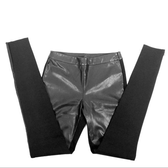 c697dd8c870943 long tall sally Pants | Faux Leather Ponte Black Legging | Poshmark